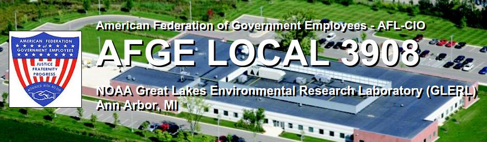 AFGE Local 3908 Banner